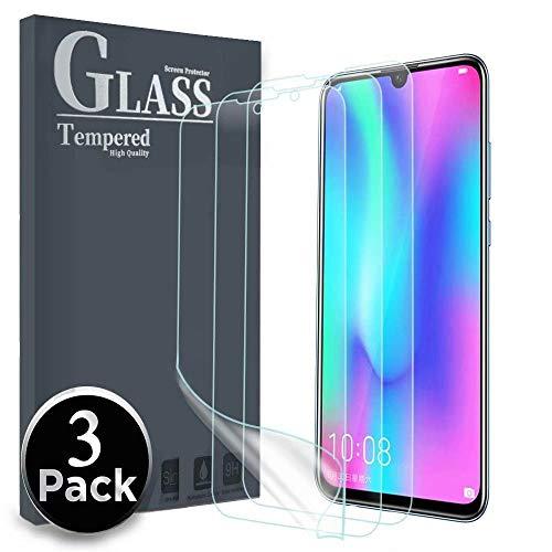 Ferilinso Schutzfolie für Honor 10 Lite/Huawei P Smart 2019,[3 Pack] Ersatz-Bildschirmschutzfolie High Sensitive Full Coverage 3D PET Flexible TPU-Folie