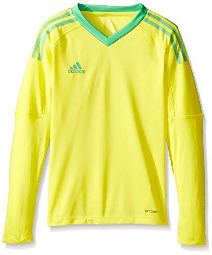 adidas Jugend Fußball Torwart Trikot Revigo 17Goalkeeper Jersey, Unisex, S1706GHTM001Y, Bright Yellow/Energy Green, Large -