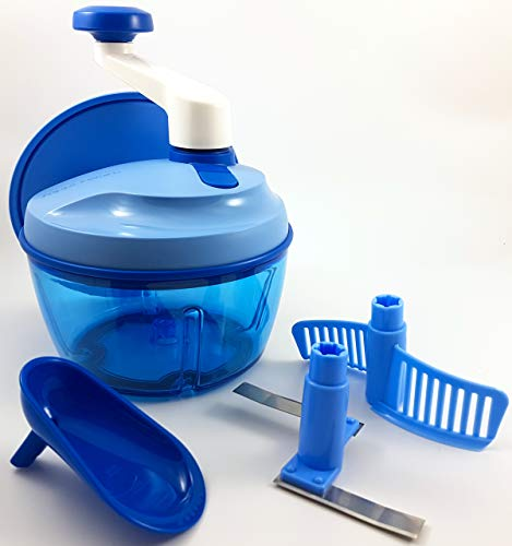 TW 1a Tupperware - Quick-Chef - blau