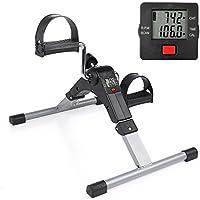 Preisvergleich für Mini-bike Heimtrainer Pedaltrainer Bewegungstrainer Bewegungstraining Fitnessgerät für Arme und Beine für Senioren und Kinder