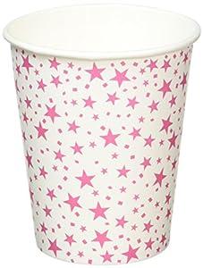 Neviti 677866Carnaval taza, diseño con estrellas, color rosa