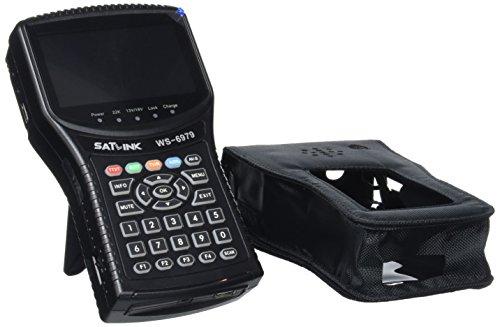 SATLink WS-6979 - Medidor de señal (compatible con DVB-S, DVB-S2, DVB-T, DVB-T2...