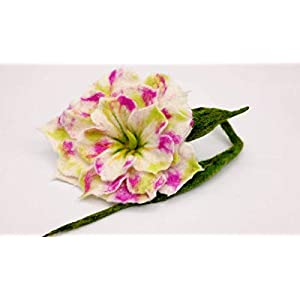 Wunderschöne Filzrose Rose gefilzt Filzblume