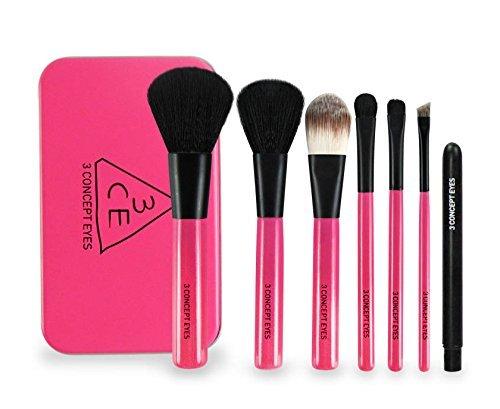 a Cosmetics 3 Concept Eyes Mini Brush Kit (Pink) ()