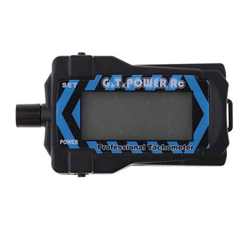 Geschwindigkeitsmesser Messgerät Mit Led Hintergrundbeleuchtung Für 2-9 Klingen Propeller Rc Drohne Teile Handheld Drehzahlmesser Propeller Geschwindigkeit Tester