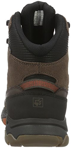 Jack Wolfskin Mtn Attack 5 Texapore Mid M, Chaussures de Randonnée Hautes Homme Marron (Earth Orange 3720)