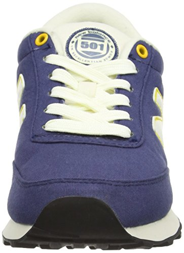 New Balance - Ml501bfr, Sneaker Unisex – Adulto Azul/Amarillo (Azul/Amarillo)