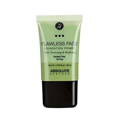 (3 Pack) ABSOLUTE Flawless Foundation Primer - Green
