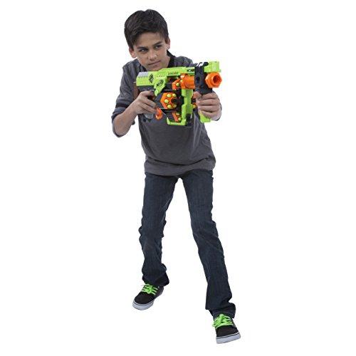 NERF Zombie Strike Dominator Blaster Toy