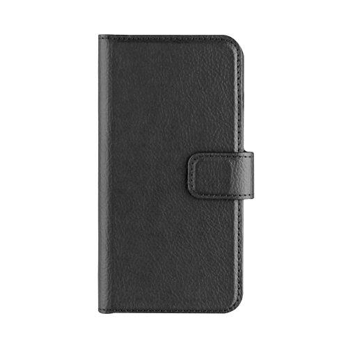 Xqisit Slim Wallet Schutzhülle für Apple iPhone 6 Plus / 6s Plus Schwarz