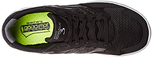 Skechers Herren Go Walk 3 Low-Top Black/White