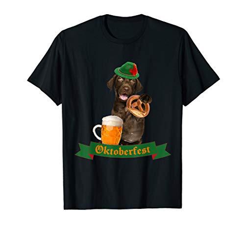 Hunde Kostüm Bier - Cute Dog Of Oktoberfest 2019 Outfit T-Shirt