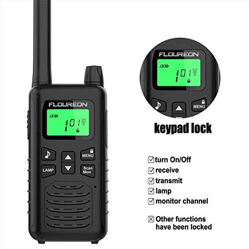 Zoom IMG-2 floureon 16ch ricetrasmittente 2x walkie
