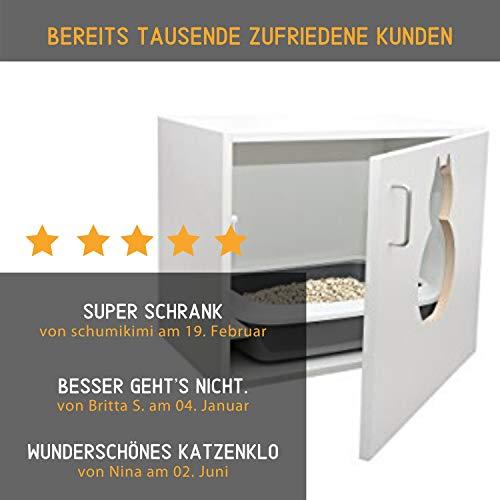 """Katzenschrank """"Maunz – das Original"""" Katzentoilette - 3"""