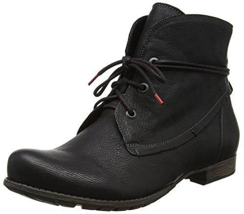 Think! Damen Denk_181015 Desert Boots Schwarz (Sz/Kombi 09)