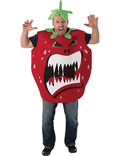 Erwachsener Mens Ladies Killer Tomate Obst Film Scary Halloween ()