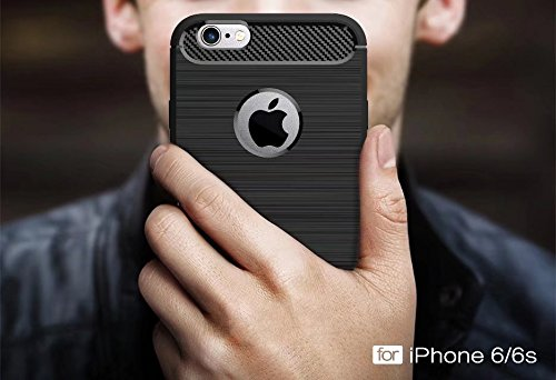 iPhone 6S Coque, iPhone 6 Coque, Valenty Hybrid Defender FlexibleProtective Coque Cover pour iPhone 6 / 6S 3# 6/6S