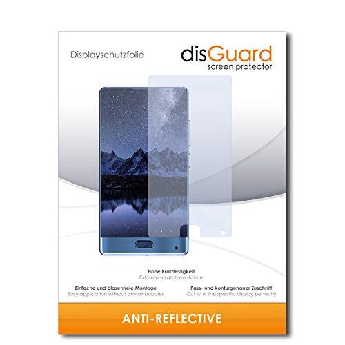 disGuard® Bildschirmschutzfolie [Anti-Reflex] kompatibel mit Doogee Mix [2 Stück] Entspiegelnd, Matt, Antireflektierend, Extrem Kratzfest, Anti-Fingerabdruck - Panzerglas Folie, Schutzfolie