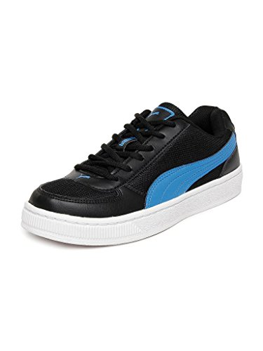 Puma Men's Contest Lite DP Black and Blue Sneakers - 9 UK/India (43 EU)  available at amazon for Rs.1755