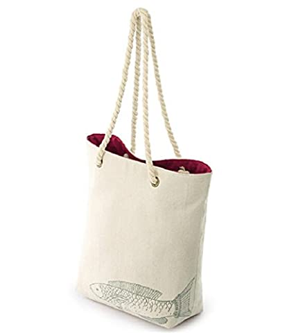 Ecology Organic Canvas Deluxe Grocery Bag Cute