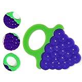 Fuson juguetes para la dentición del bebé Mordedor, Masaje, dientes molares con Calmar avanzada suave BPA Natural Teethers árbol libre Juego de regalo