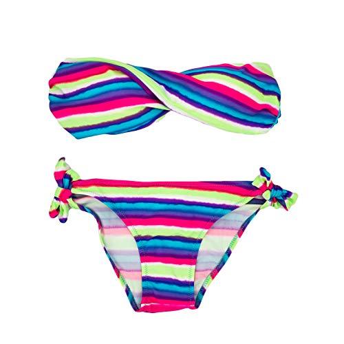 Sexy Twist (Mienloco Sexy Twist Push Up Bandeau Bikini Gr. 34/XS, S (B10))