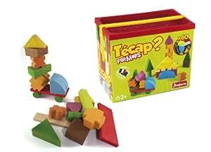 Jeujura Jeux de Construction - Tecap - Forminis - 60 Pièces
