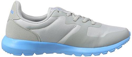 KangaROOS K-X 2227, Unisex-Kinder Sneakers Grau (lt. grey 240)
