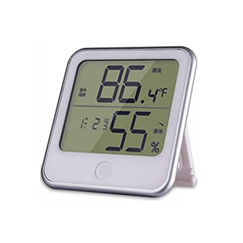 Liu Yu·Office Space,Home office supplies yellow high - grade electronic thermometer alarm clock