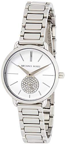 Michael kors orologio analogico quarzo da donna con cinturino in acciaio inox mk3837