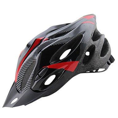ftiier leicht einteiligen Carbon Faser Fahrrad Sicherheit Helm abnehmbarer Mütze Helm Herren und Damen Fahrradhelm, 55–64cm
