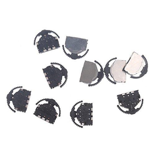 Yintiod 10 Teile/satz Big Head SMD 3-Pin Stativ Daumenrad Kippschalter Für MP3 MP4 Telefon