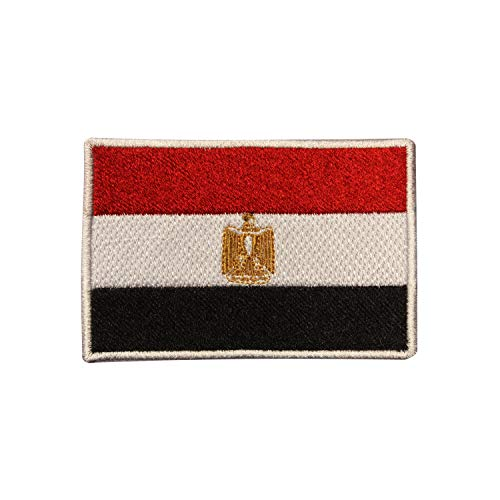 Real Empire Parche Bordado Bandera Nacional Egipto