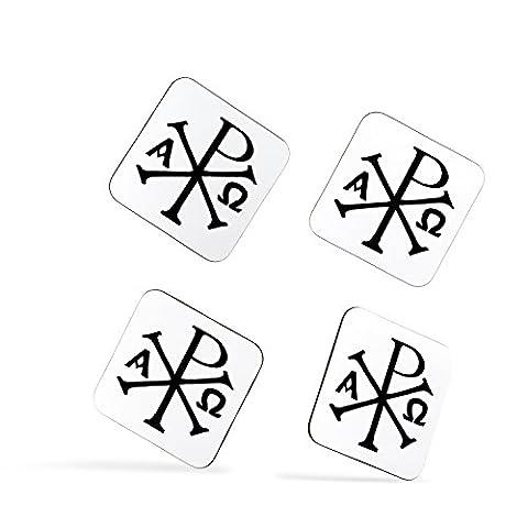 Chi Rho XP Christ Christian Symbol Monogram sous-verres