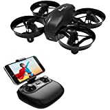 Potensic Mini Drone, WiFi FPV Nano Drone Remote Control Altitude Hold Quadcopter