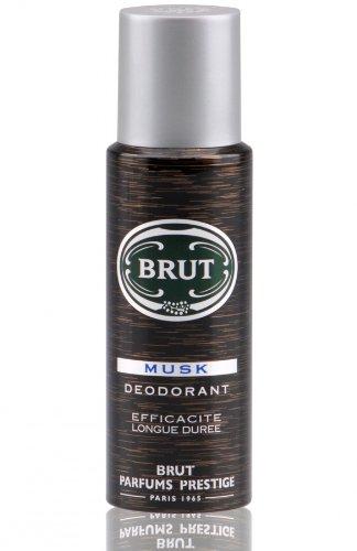 Brut Musk Deodorant Body Spray 200ml (D6) (Musk Deodorant Body Spray)