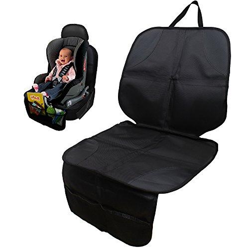 StillCool Kindersitzunterlage Autositzauflage Sitzaufleger Autositzschutz schmutzabweisend und universell passend in Schwarz