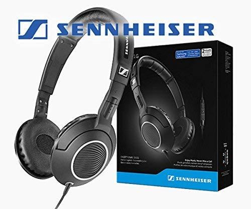 Sennheiser HD 231G, ohraufliegende Kopfhörer/Headset mit Bass, und Inline Mikrofon und Fernbedienung für Android-Geräte -