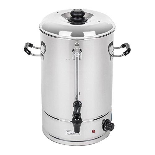 Royal Catering - RCWK 40L - Hervidor de agua 40 Litros - 223 Tazas - max. 100 °C - 230 V - Grifo - Indicador de nivel - Envío Gratuito