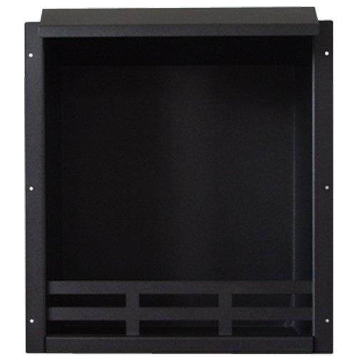 Combustion Chamber Fireplace Insert Black 58,5x51x23 cm Bio Ethanol Gel Fire