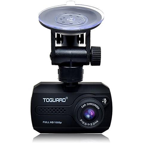 KINGMAK Mini 1080P auto, Full HD, DVR cruscotto sensore di movimento integrato, Loop Recorder (senza C10 memoria Micro SD, 16 GB