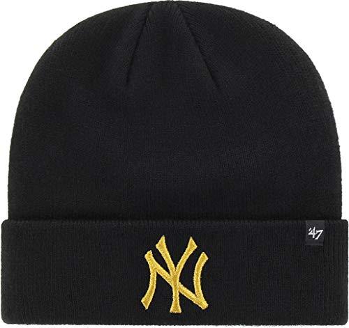 '47 Gorro Beanie Brand MLB New York Yankees Metallic