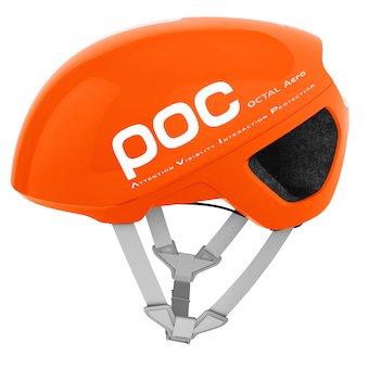 POC Octal Aero Casco, Unisex Adulto, Zink Orange, S/50-56cm