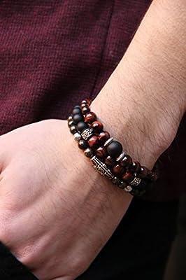 Bracelet BS3006-8.0 pour hommes et femmes La planète rouge