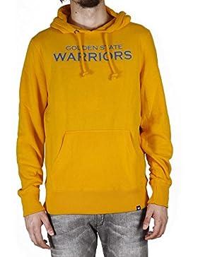 47_brand Felpa Con Cappuccio Nba Golden State Warriors giallo