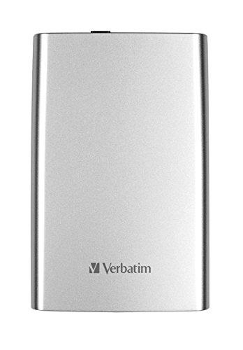 Verbatim Store 'n' Go 1TB externe Festplatte (6,4 cm (2,5 Zoll), 5400rpm, 8MB Cache, USB 3.0) silber