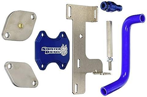 Sinister Diesel SD-EGRD-6.7C-10 EGR Delete Kit by Sinister Diesel