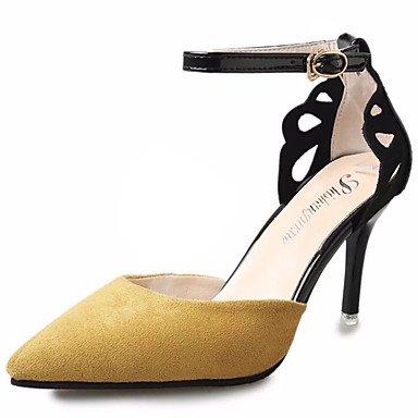 Zormey Damen Sandalen Komfort Im Sommer Pu Outdoor Stiletto-Absatz US5.5 / EU36 / UK3.5 / CN35