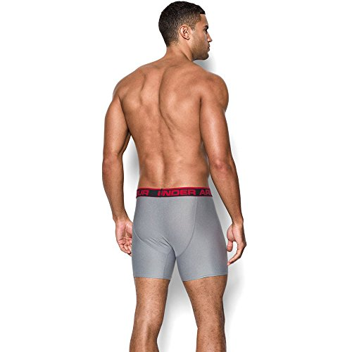 Under Armour Herren Sportswear Unterhose The Original 6 Zoll Boxerjock True Grey Heather