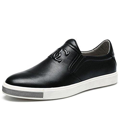 Winter Fashion de l'automne en cuir véritable personnalité occasionnels cuir chaussures